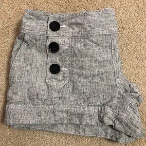 Express women's linen shorts